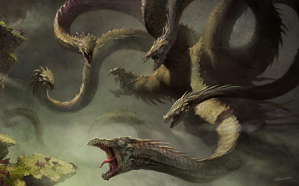 Hydra monster by velinov