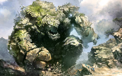 Earth elemental by velinov