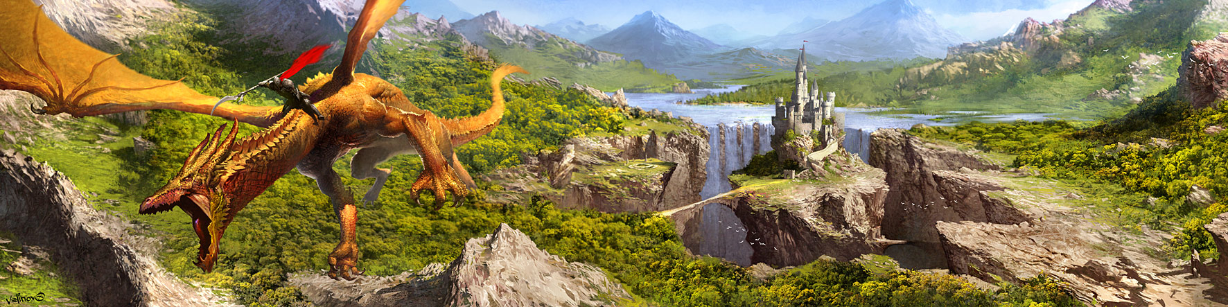 Castle Age game banner by velinov