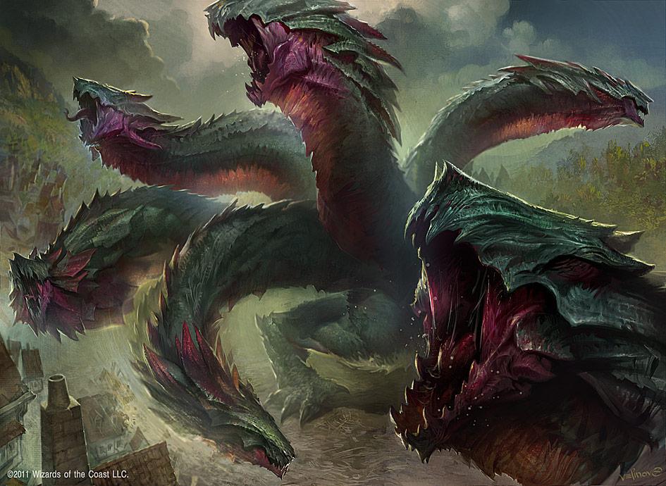 Hydra Omnivore by velinov