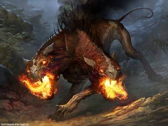 Hound of Griselbrand by velinov