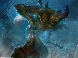 Treacherous Pit Dweller by velinov