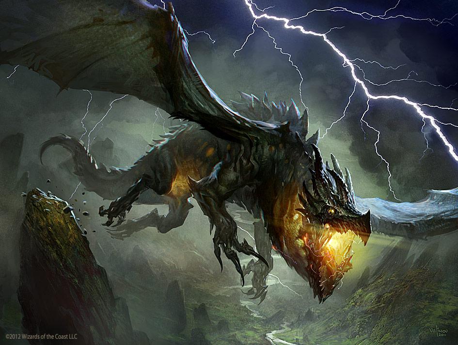 Thundermaw Hellkite by velinov