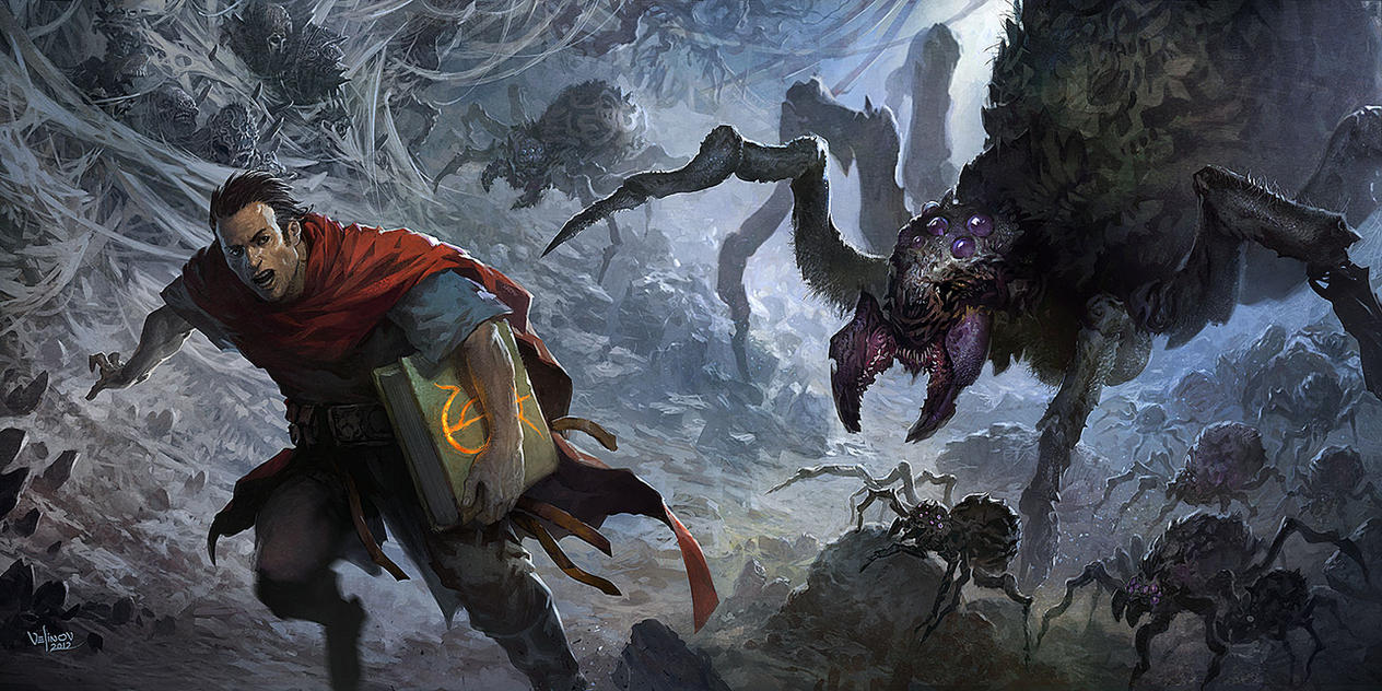 Spider playmat by velinov