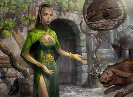 Oak Street Innkeeper by velinov