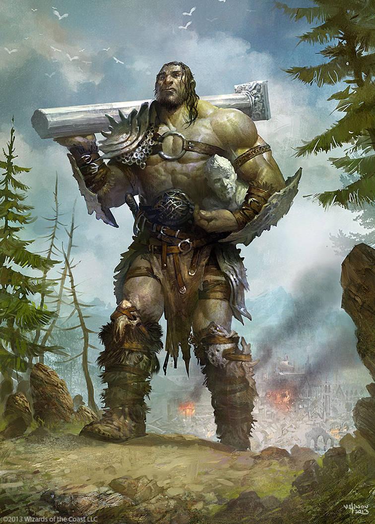 Giant-Warrior by velinov