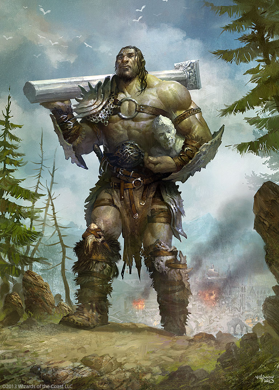 Ilustraciones sueltas chulas encontradas por el internete - Página 2 Giant_warrior_by_velinov-d6793ud