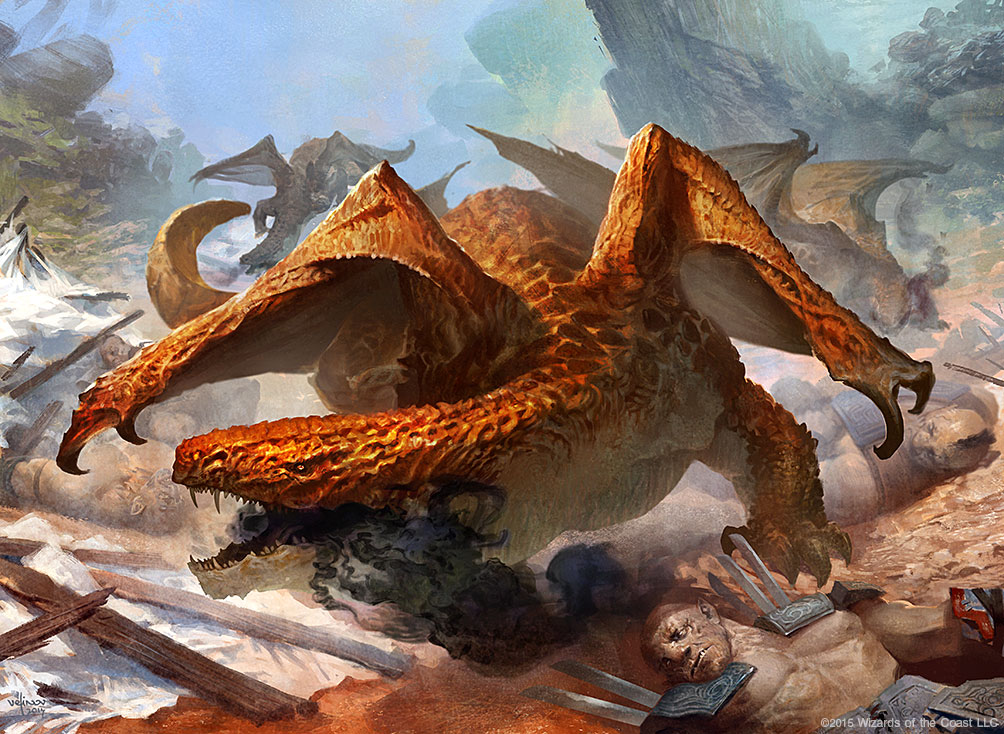 Noxious Dragon by velinov