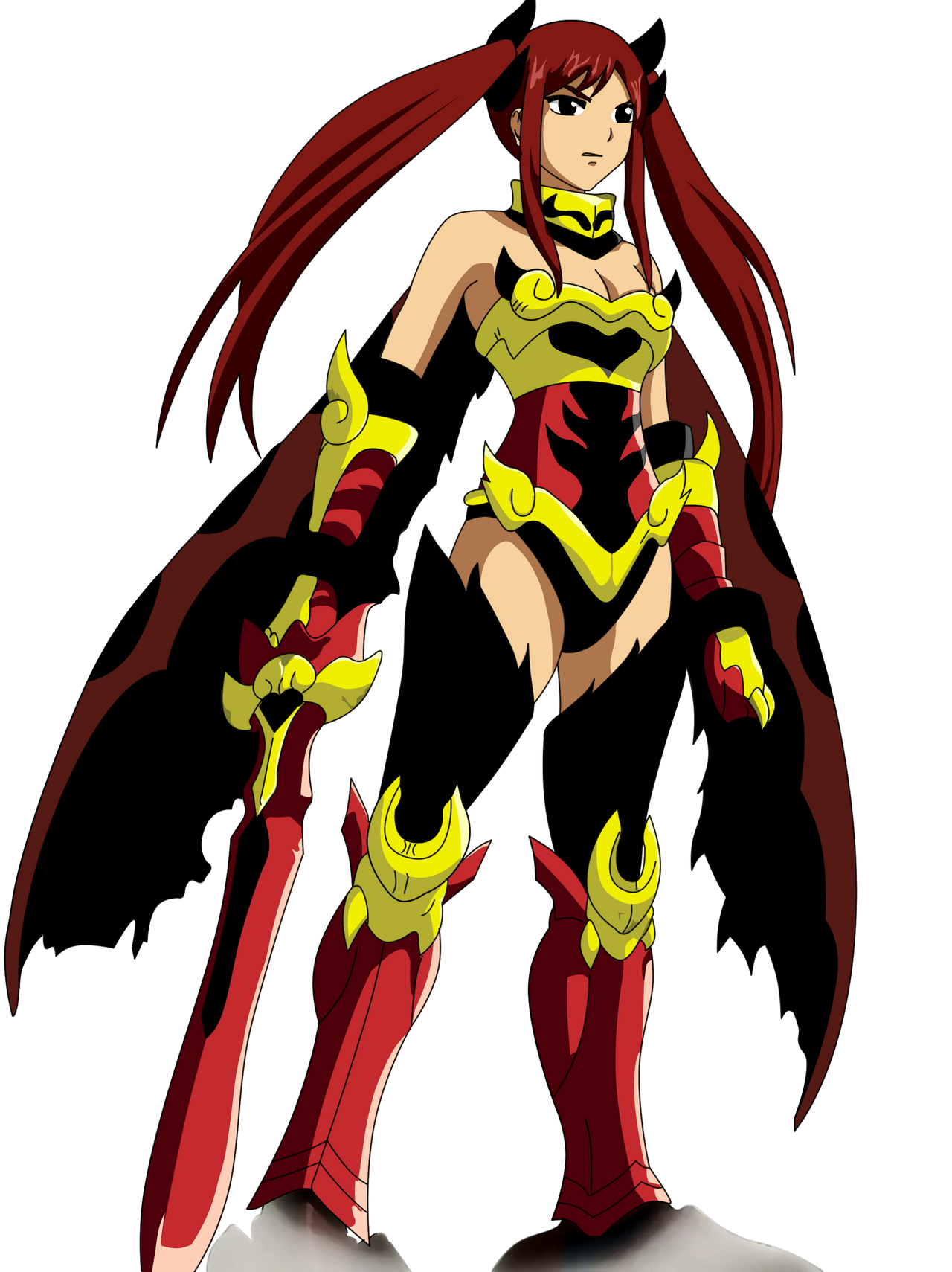 erza scarlet Flame Empress Arm: fairy tail by ice-do on ...