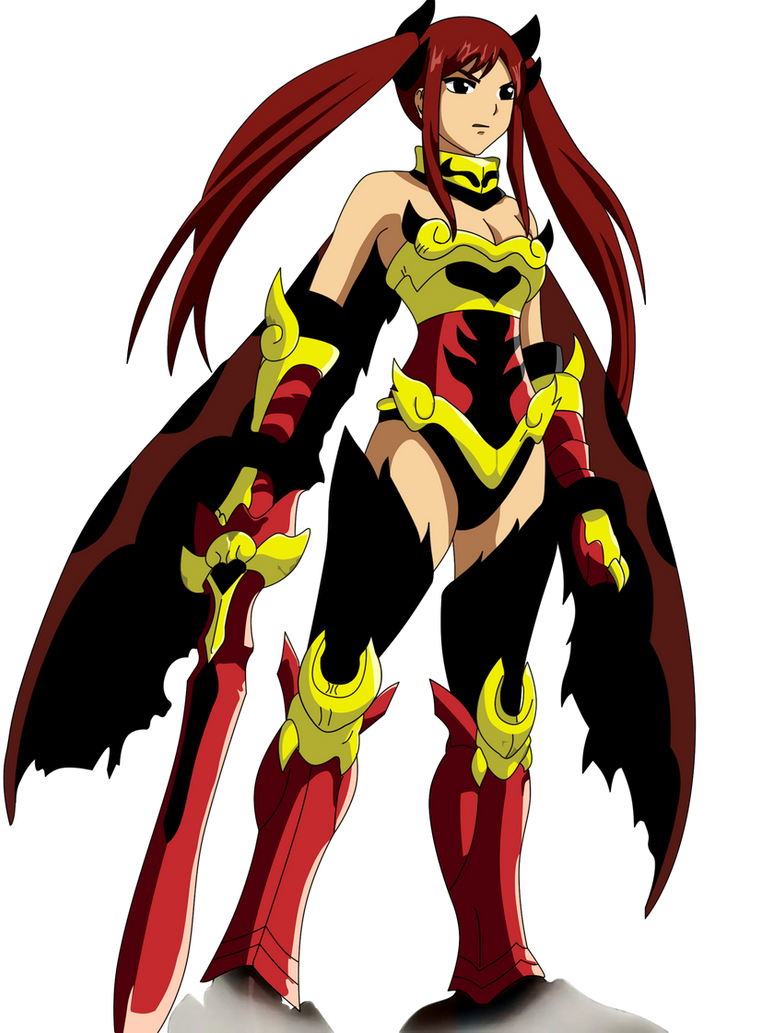 erza scarlet Flame Empress Arm  fairy tail by ice-doFairy Tail Erza Flame Empress Armor
