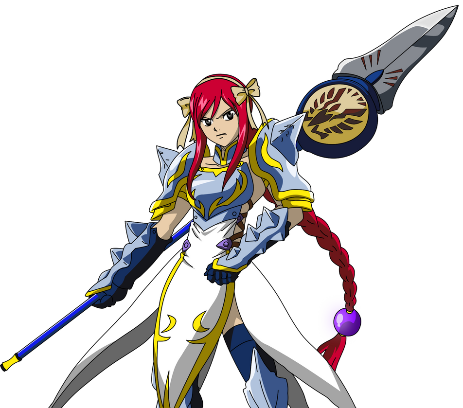 fairy tail erza scarle...