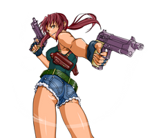 Revy Two Hands: Black Lagoon by ice-do