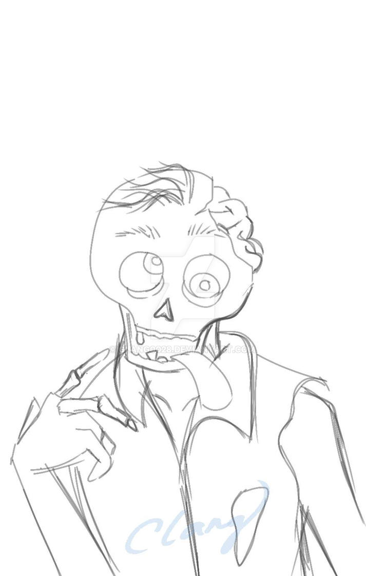 Day 9 Draw A Zombie By Clang0028 On Deviantart