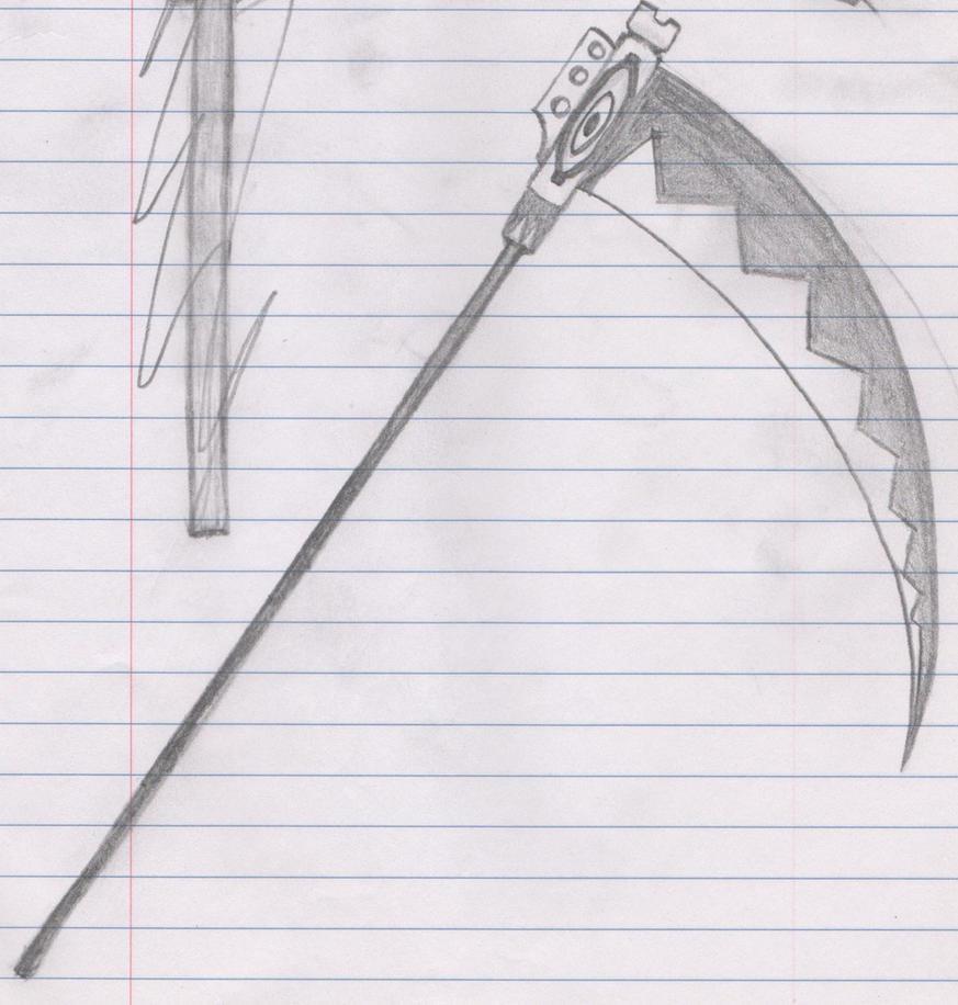 Soul eater soul scythe drawing