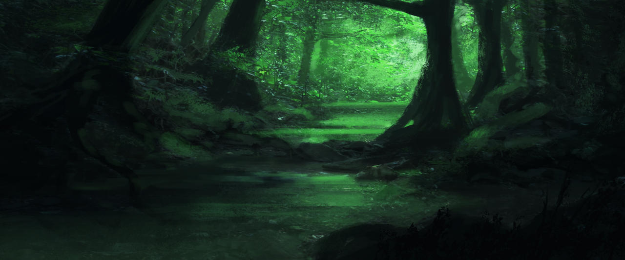 Jungle concept art 3 by jaxko on DeviantArt