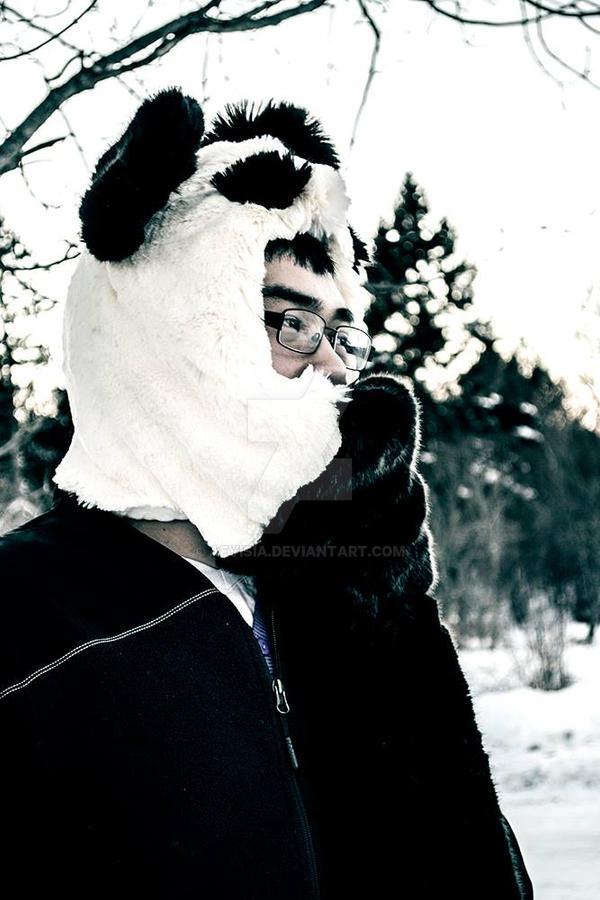 Panda Persona Hood x2 by HerPersona