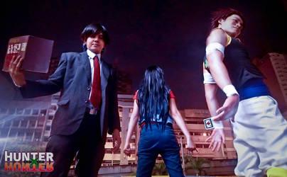 Kuroro, Illumi and Hisoka