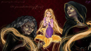 Mother Gothel Transformation