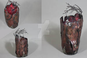Metal Tree Vessel