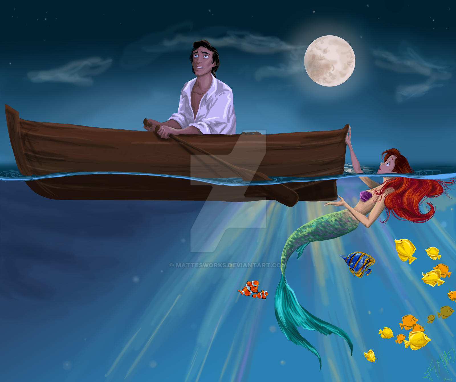 was the little mermaid originally a gay love letter