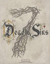 Disney Seven Deadly Sins