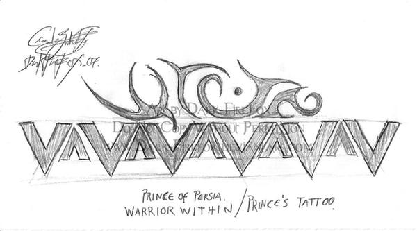 popww prince 39 s tattoo by dark firefox on deviantart. Black Bedroom Furniture Sets. Home Design Ideas