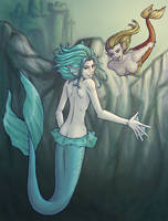 Mermaids by Serenejen