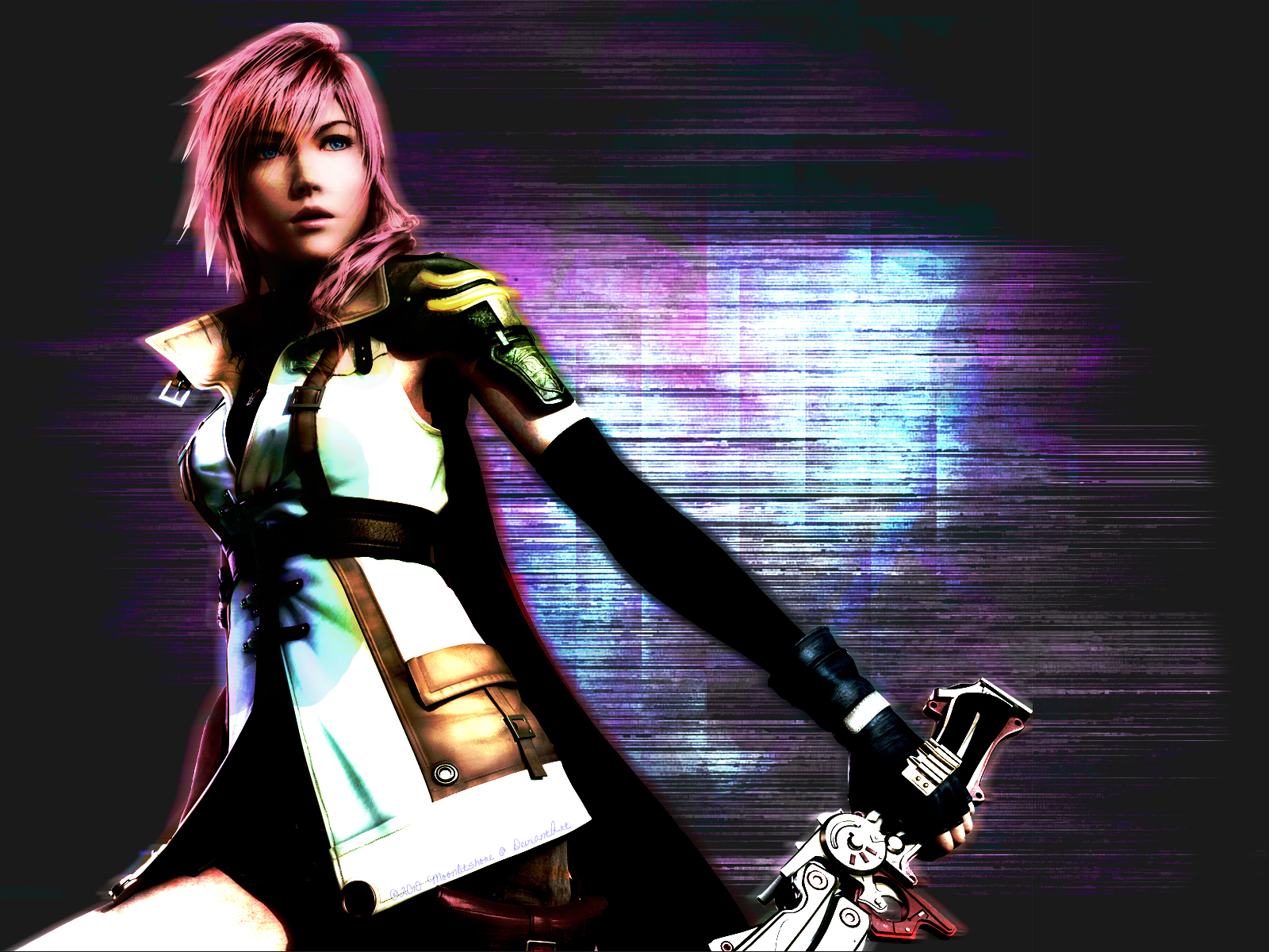 ff13 lightning wallpapermoonlitshore on deviantart