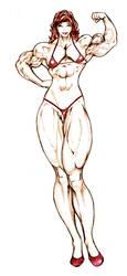 Chun Li with a huge clit in bikini by chase-malone