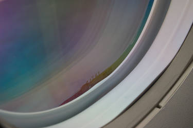 Airplane Window by bmud