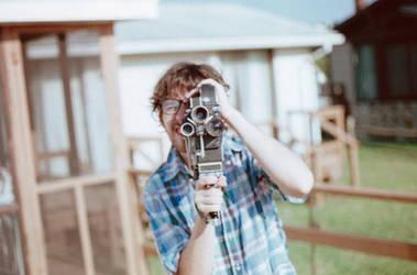 Alex Shooting With His Bolex by bmud