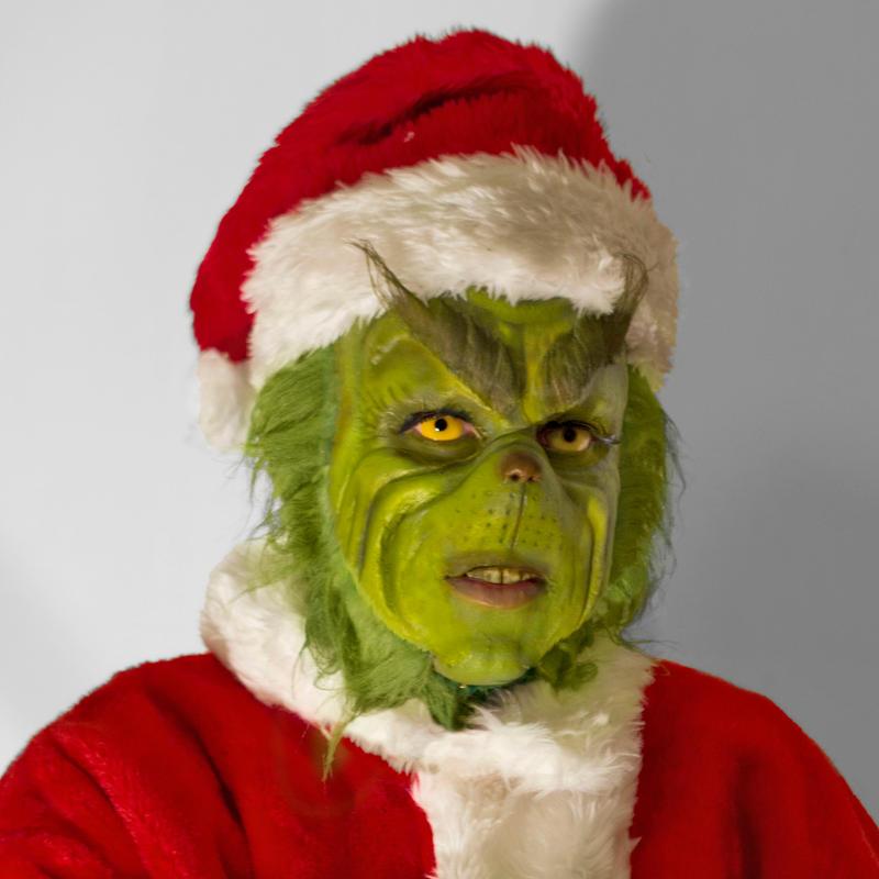 Grinch portrait by jerrysponge