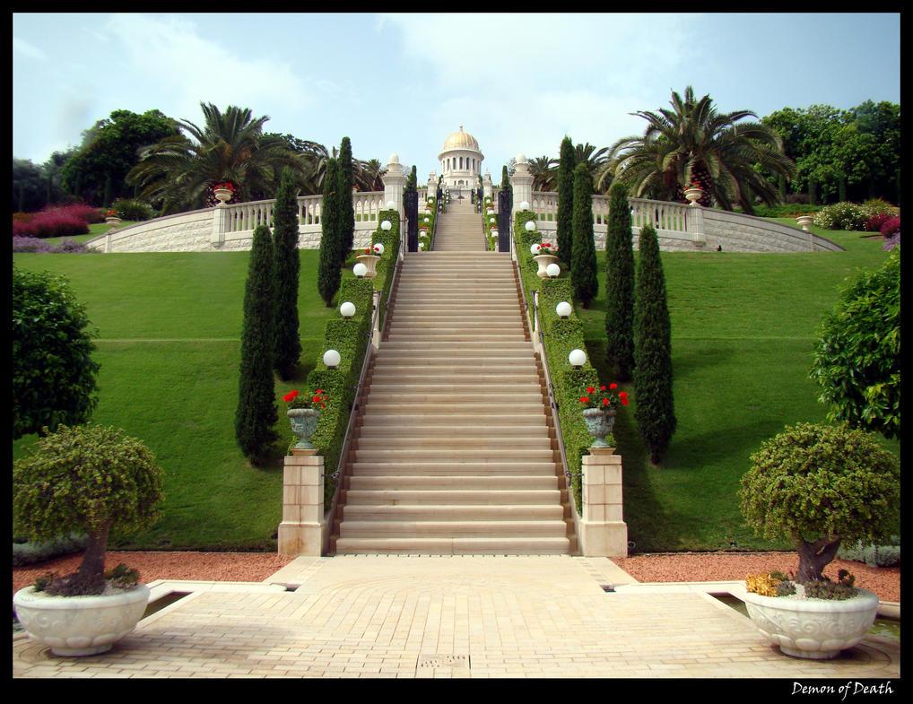Bahai Gardens 2 by Demon-of-Death-665
