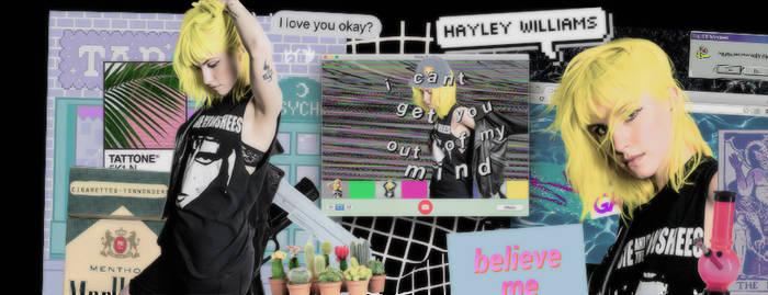 Timeline 'Hayley Williams' |vaporwave in BLACK