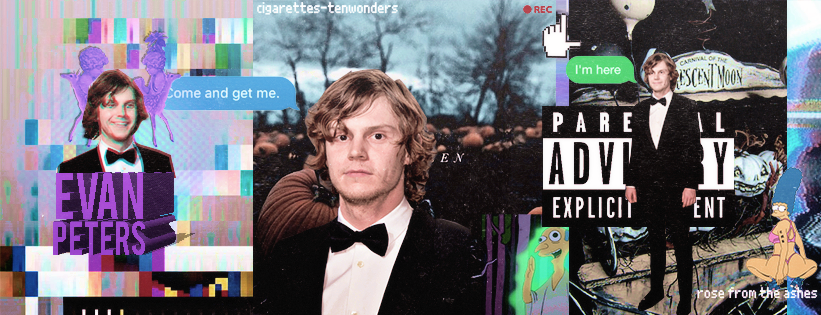 Timeline 'Evan Peters' | halloween and grunge by cigarettestenwonders
