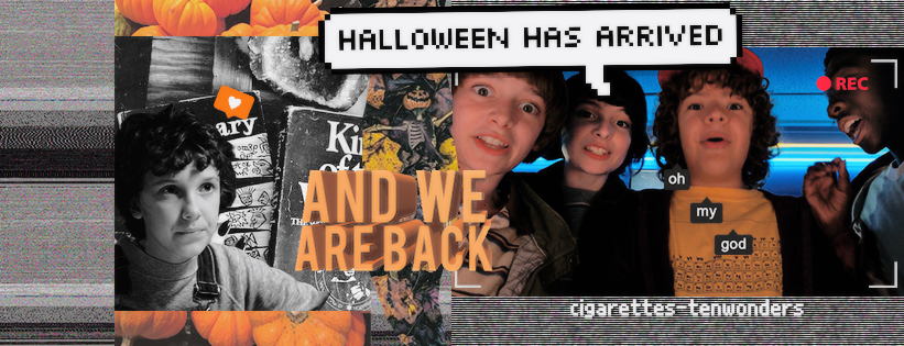 Timeline 'STRANGER THINGS 2'  halloween and grunge by cigarettestenwonders