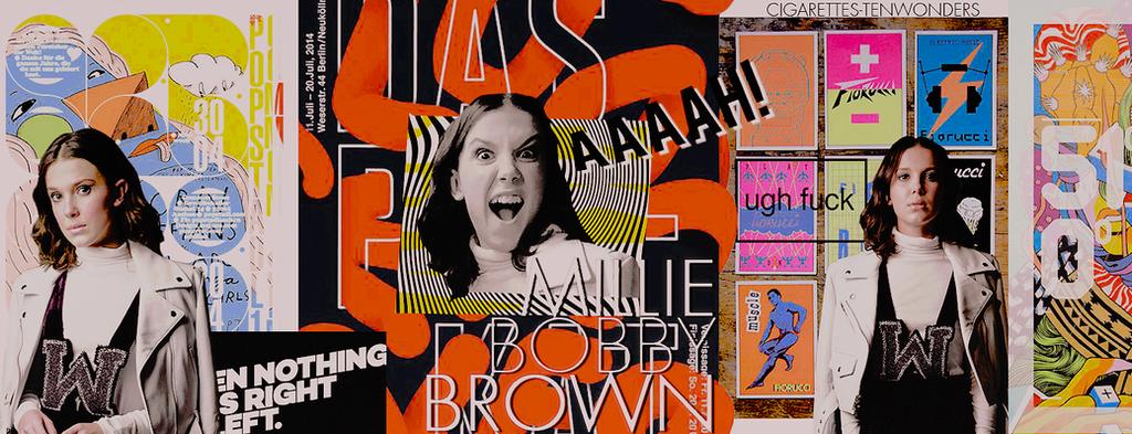 Timeline 'Millie Bobby Brow'| niu grafik1! by cigarettestenwonders