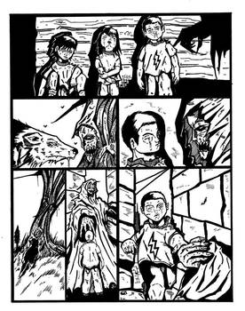 Comic Page little project