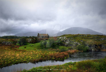 The house that once decorated connemara