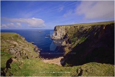 Co Donegal coastline brightness