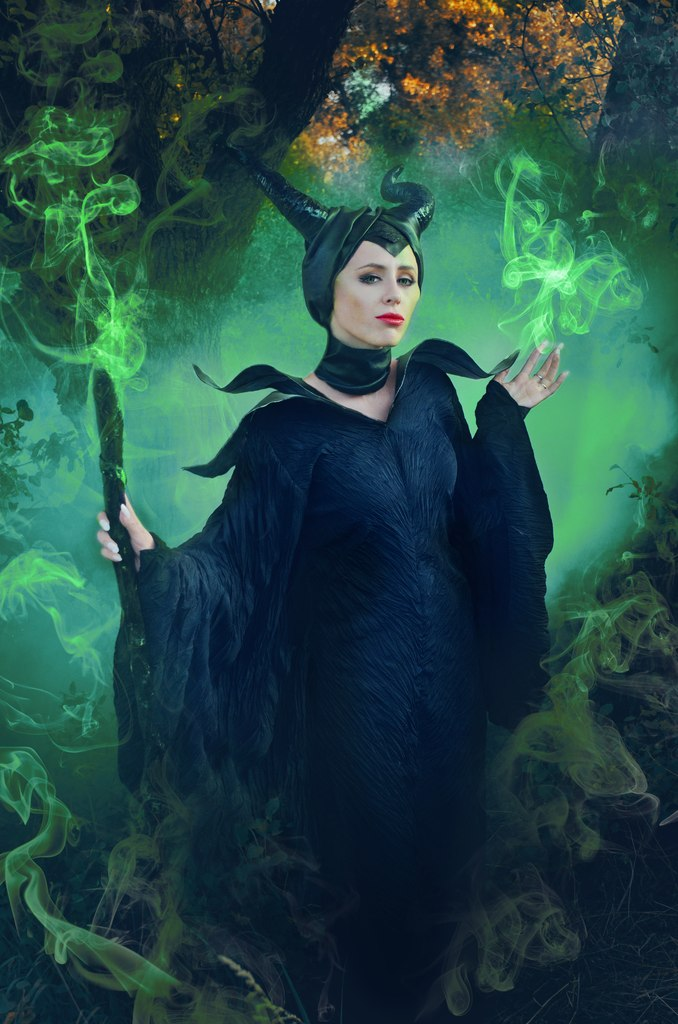 Maleficent cosplay by MisaKaterina