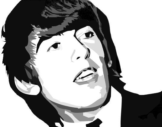George Harrison - Smile by IgnitedAngel
