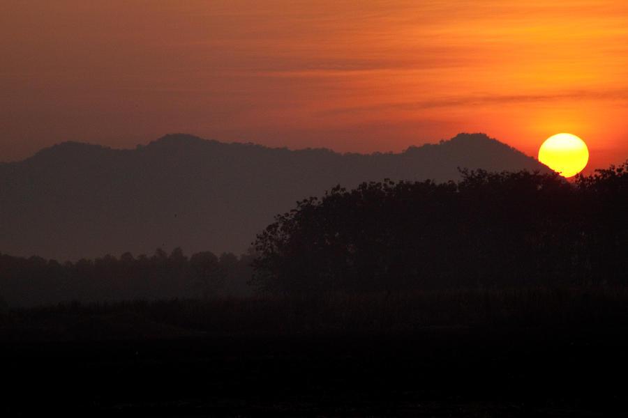 Sunrise on a Sleeper Train by Veganvictim