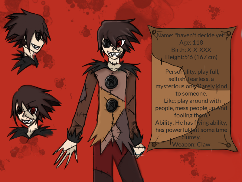 The next Creepypasta Oc's has done :D by paragonkell80