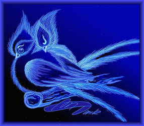 Bluebirds by Villa-Chinchilla