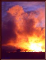 Last greetings of the Sun by Villa-Chinchilla