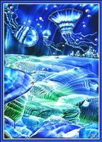 Jellifish Blues by Villa-Chinchilla