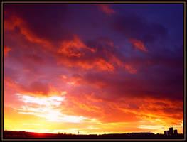 Colorfire in the Sky by Villa-Chinchilla