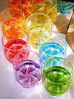 Rainbow Drink Temptation by Villa-Chinchilla