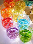 Rainbow Drink Temptation